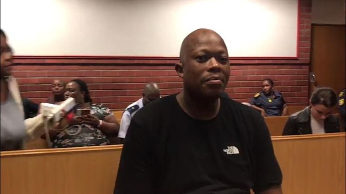 """Mandla """"Mampintsha"""" Maphumulo appeared in court after the video was posted"""