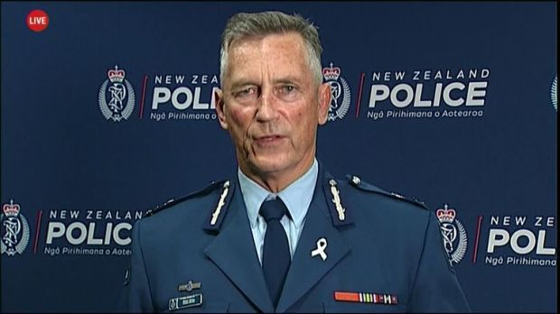 Police commissioner Mike Bush provides an update on active gunman situation in New Zealand