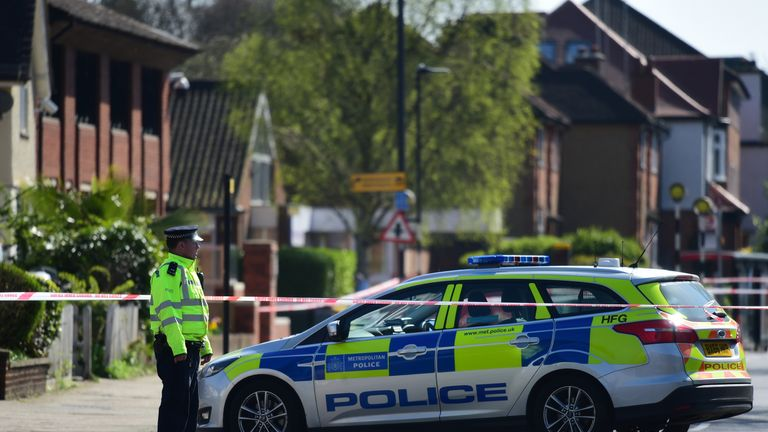 A man died following a stabbing incident in Pinner