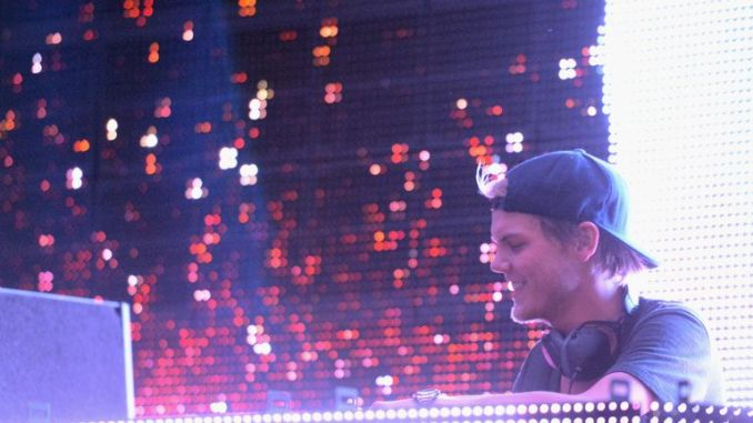 Avicii performed at festivals around the world after his international breakthrough with Levels in 2011
