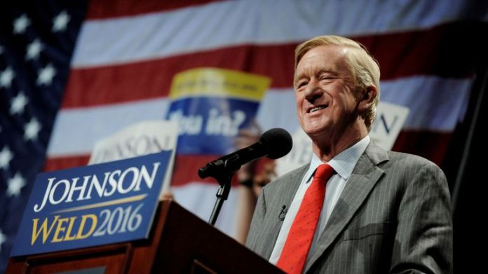 Bill Weld was the Vice Presidential candidate of the Libertarian Party in 2016
