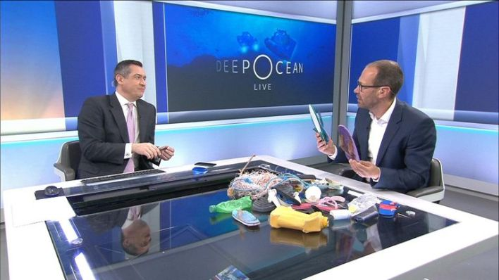 Science correspondent Thomas Moore spoke about the plastic waste he saw in the waters around the Seychelles.