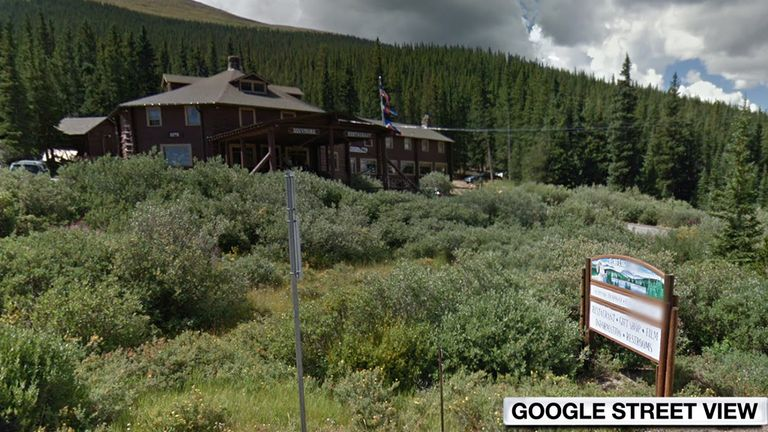 Pais was reportedly found dead at the Echo Lake Lodge near Denver. Pic: Google Street View