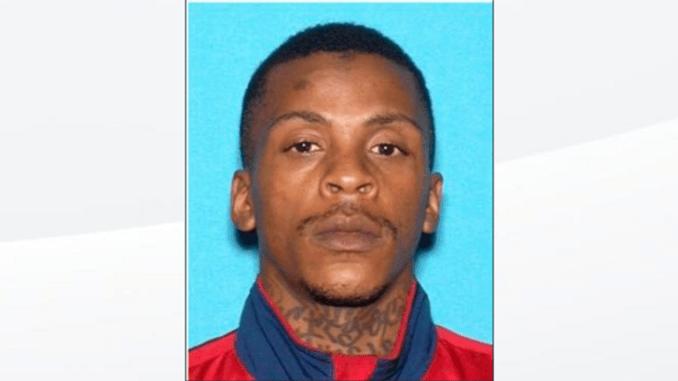Eric Holder was arrested on suspicion of killing the LA rapper. Pic: Twitter/ LAPD
