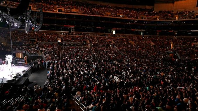 Thousands of fans attended Nipsey Hussle's memorial service in the Staples Centre in Los Angeles