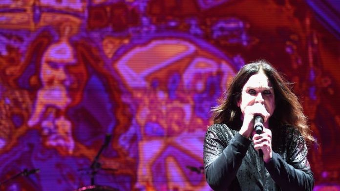 Ozzy Osbourne at San Manuel Amphitheater on September 24, 2016 in Los Angeles, California.