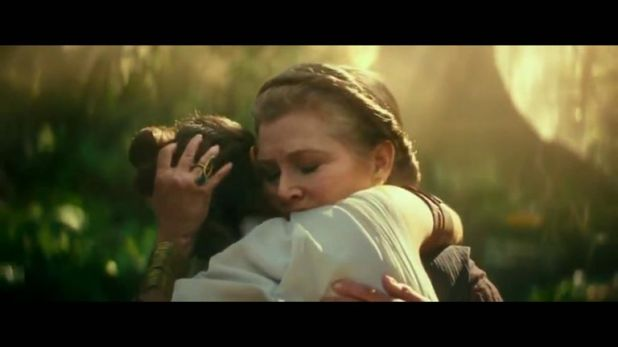Carrie Fisher's Leia will live in Star Wars IX, director JJ Abrams has said. Pic: Lucas Films