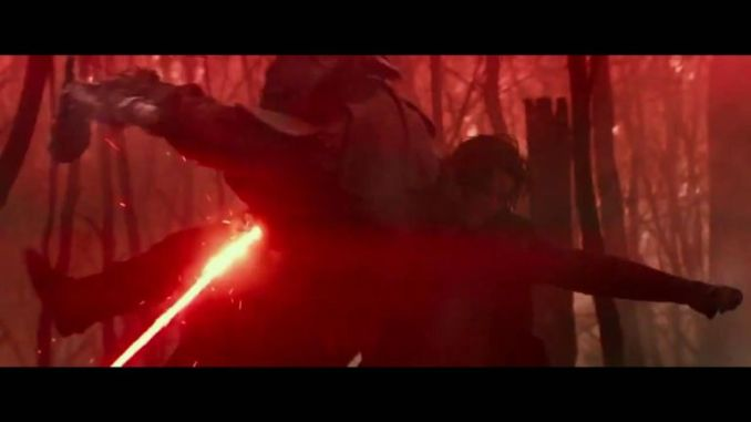 Adam Driver stars as the young Darth Vader in the new movie. Pic: Lucas Films