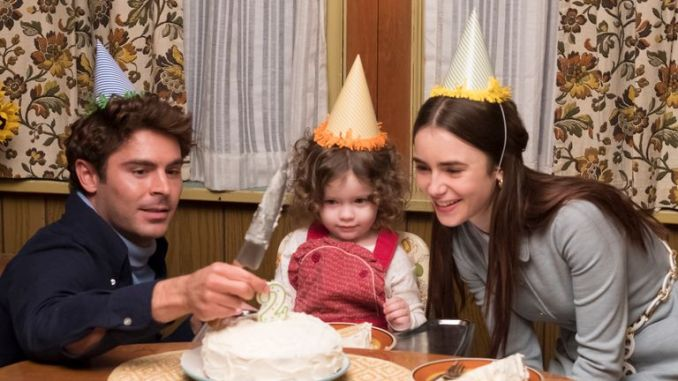 Zac Efron and Lily Collins in Ted Bundy film, Extremely Wicked, Shockingly Evil And Vile. Pic: © 2018 Wicked Nevada, LLC