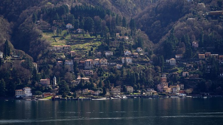 COMO, ITALY - MARCH 19: A general view of the Lake Como on March 19, 2019 in Como, Italy. The Lake Como is the deepest Italian Lake. Lake Como is falling with a shortfall of 95 million cubic meters, 21% less than the average. (Photo by Vittorio Zunino Celotto/Getty Images)