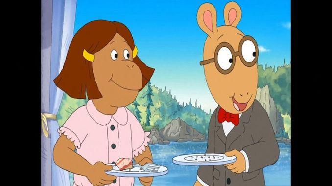 PBS show Arthur featured a gay wedding between a rat and an aardvark
