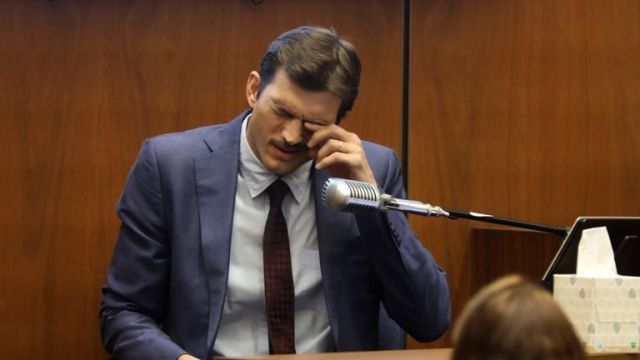 Actor Ashton Kutcher testifies at the murder trial of accused serial killer Michael Thomas Gargiulo