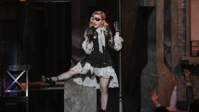 Madonna at the Billboard Music Awards 2019 in Las Vegas