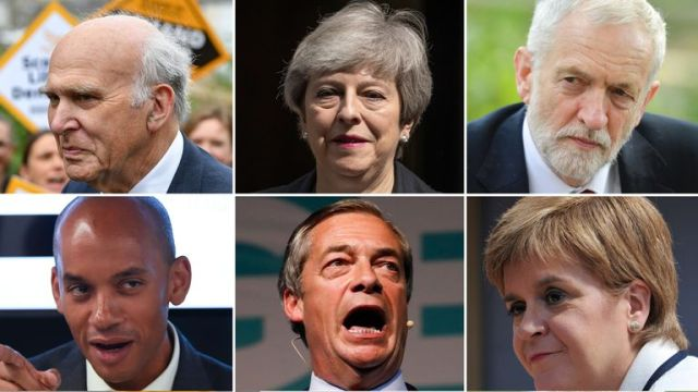 There are some new parties contesting the European elections in the UK this time round