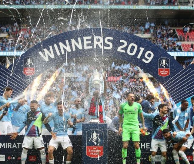 Manchester City Win Fa Cup To Secure Historic Domestic Football Treble Uk News Sky News