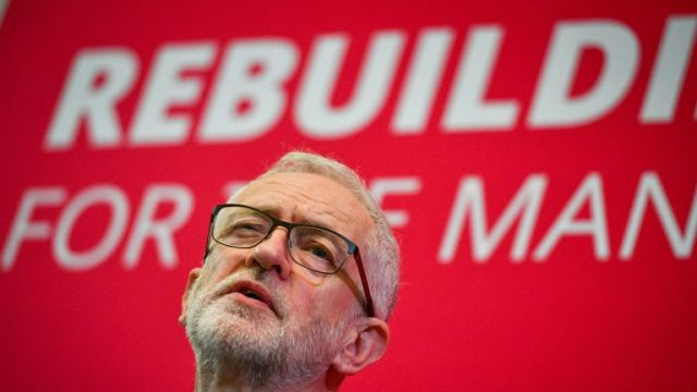Mr Corbyn announced the new policy at a conference in Birmingham