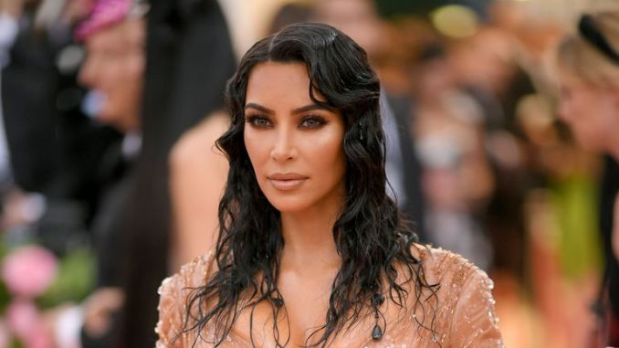 Kim Kardashian West attends The 2019 Met Gala Celebrating Camp: Notes on Fashion at Metropolitan Museum of Art on May 06, 2019 in New York City. (Photo by Neilson Barnard/Getty Images)