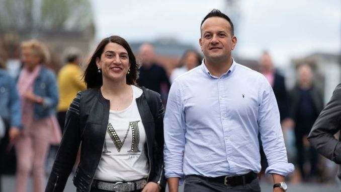 Irish Taoiseach Leo Varadkar proved his Spice Girls fandom as he attended the concert with his sister Sonia