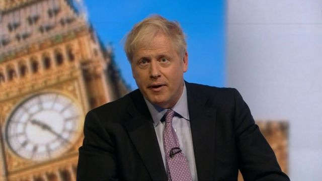 Boris Johnson 'sorry' for offence of past comments