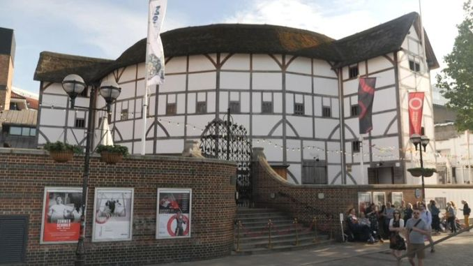 The Globe is running the plays until October