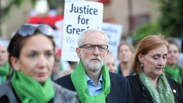 Jeremy Corbyn attends
