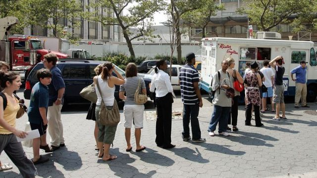 Mister Softee was been involved in a 'turf war' with New York ice Cream