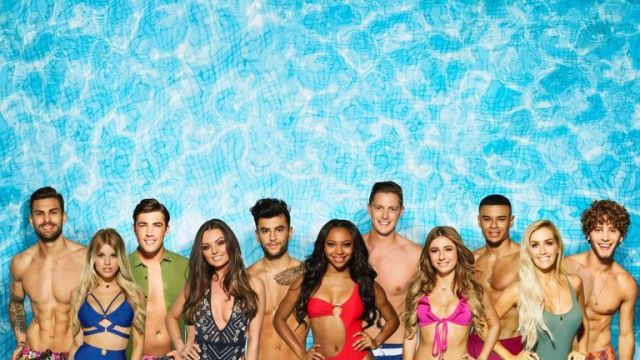 Eyal Booker (far right) has spoken to Sky News about Love Island. Pic: ITV2/ Love Island