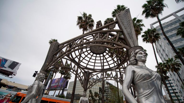 The statue was stolen from its perch on Sunday