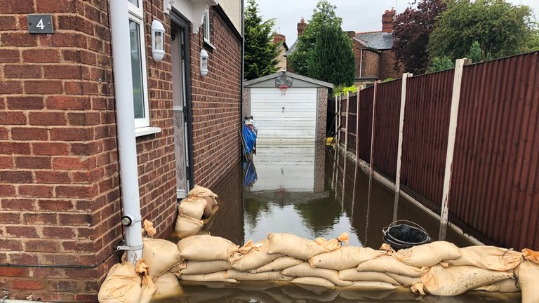 skynews-weather-rain-flooding_4693501 Travel and sport disrupted as heavy rain batters Britain