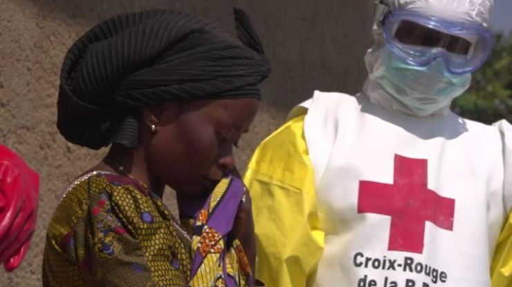 Family members are not allowed to get close to the bodies of those they have lost to Ebola
