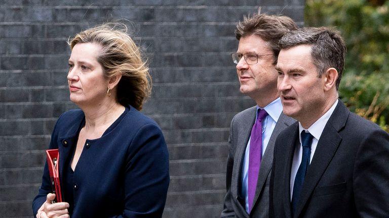 skynews-greg-clark-amber-rudd_4715914 Greg Clark: No-deal Brexit would kill 'many thousands of jobs'