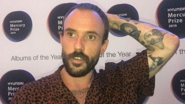 """Idles' lead vocalist Joe Talbot said it feels """"magical"""" to be nominated for 2019 Mercury Music Prize."""