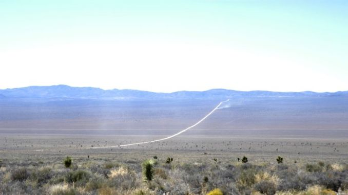 Area 51 (Groom Lake, Dreamland) File Photo near Rachel, Nevada, 2004