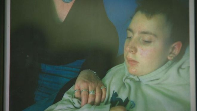 Alex suffered from ALD for 12 years and died in 2012