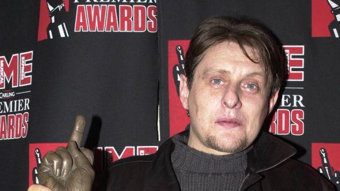 Shaun Ryder at the NME Awards