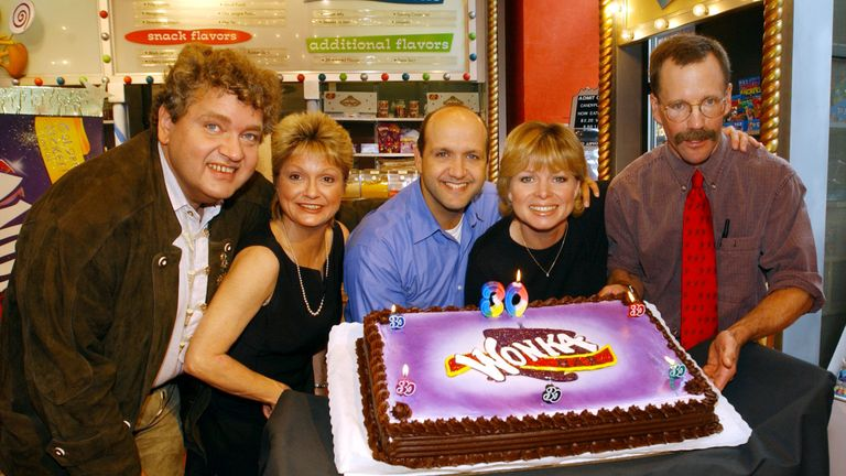 Cast of the Willy Wonka 1971 edition gather for an anniversary.