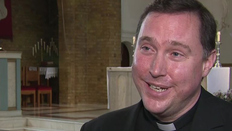 Priest praises love for Nora in community