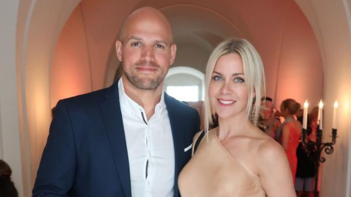 Kate Lawler and fiancé Martin launched the Maybe Baby podcast