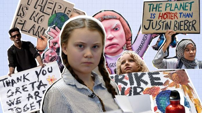 The climate protection activist Greta Thunberg was only eight years old when she was enthusiastic about the planet