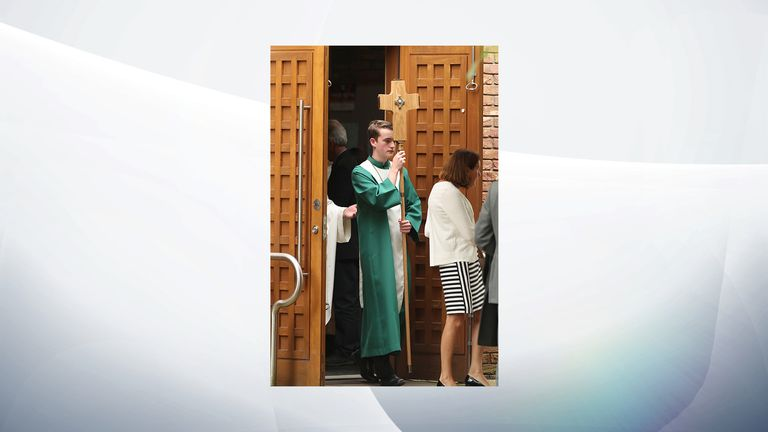A service was held for Nora at the same church in Belfast where she was baptised