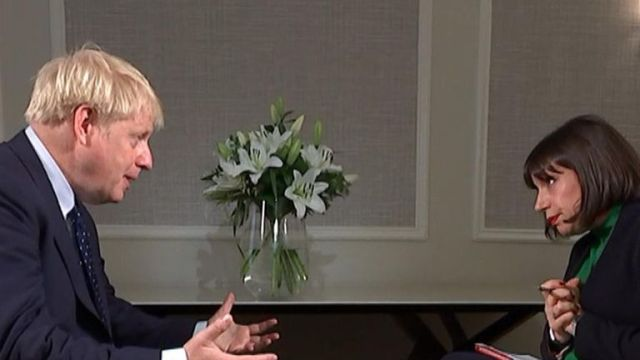 The prime minister is asked directly about allegations of affairs and improper conduct
