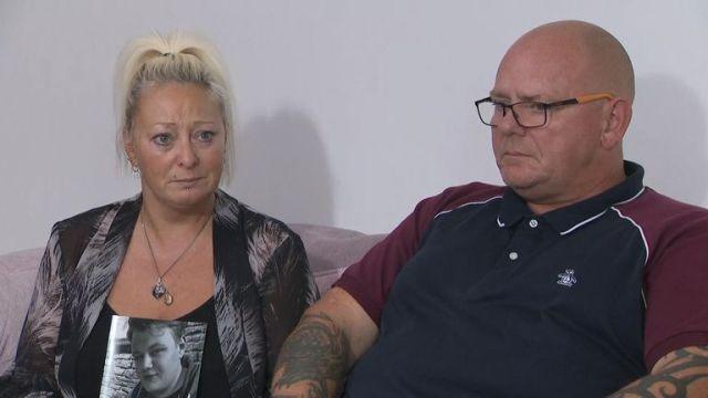 Harry Dunn's parents