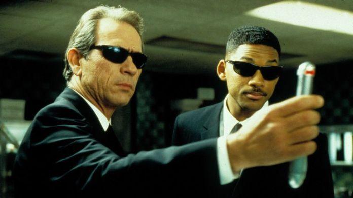Will Smith et Tommy Lee Jones dans Men In Black
