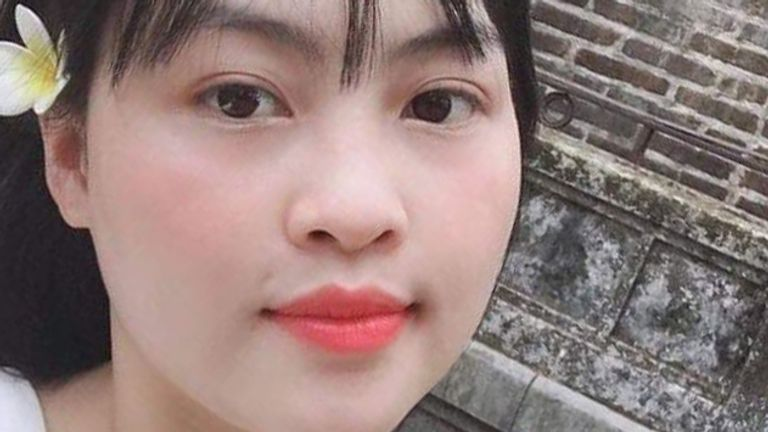 Pham Thi Tra My, from Vietnam, is one of the suspected victims