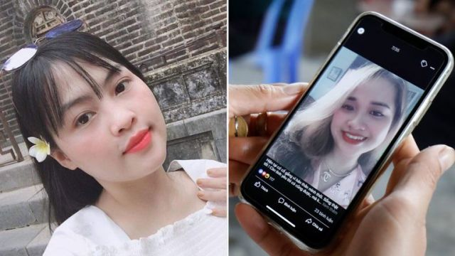 Tra My (left) and Anna Bui Thi Nhung (right), both from Vietnam, are suspected victims
