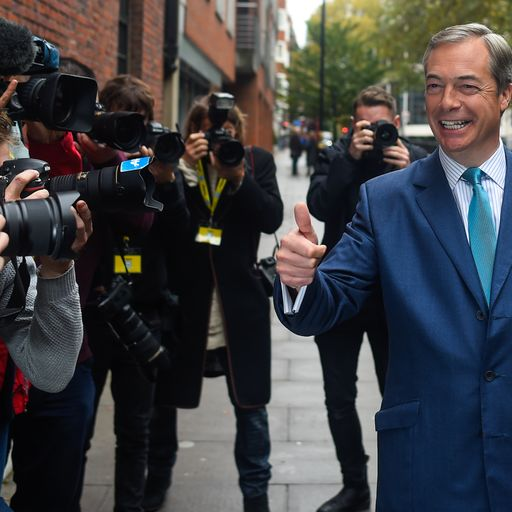 Is Farage in danger of ushering in a Corbyn government?