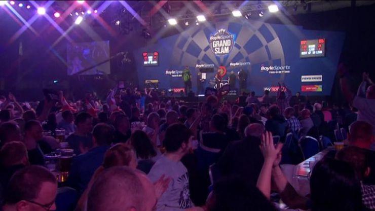 Peter Wright golpea a Rob Cross para pasar a los cuartos de final de Grand Slam | Noticias de dardos 12
