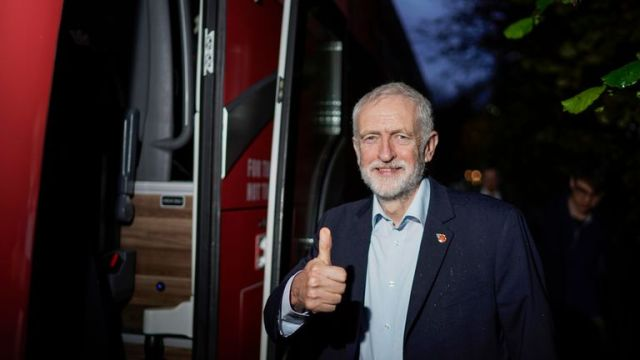 """Jeremy Corbyn has said the Conservatives are """"failing a whole generation of children"""""""
