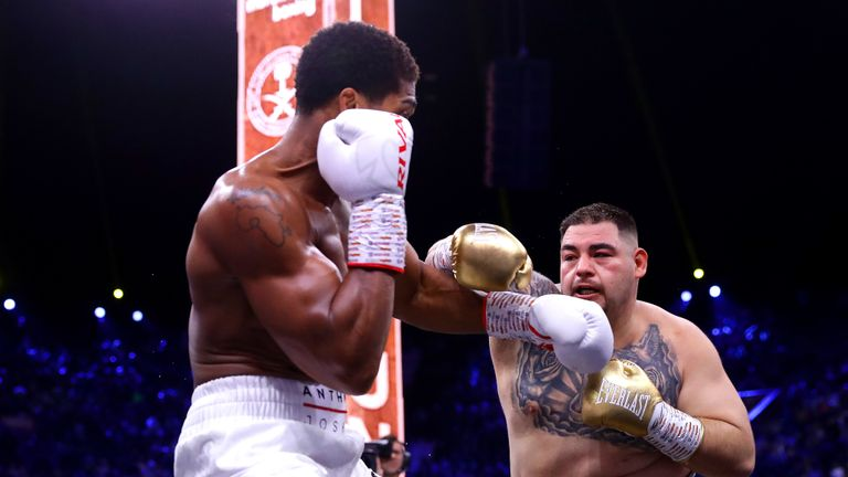 Image result for Ruiz Jr vs Joshua 2: Andy Ruiz wants to face Anthony Joshua a third time after losing rematch