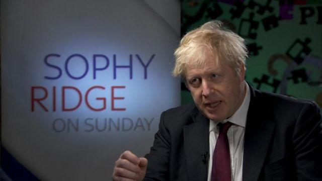 Boris Johnson on customs checks